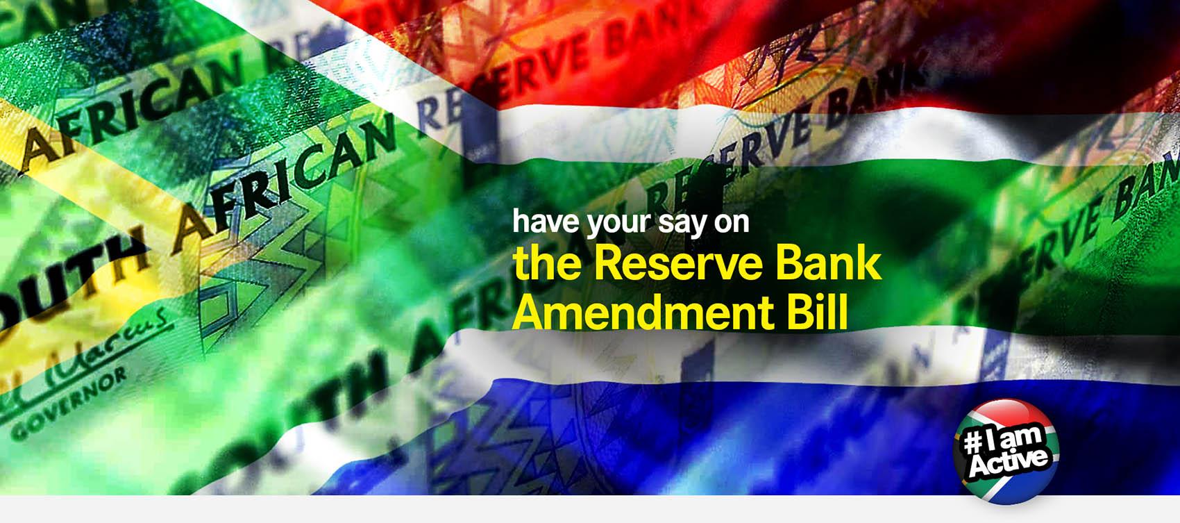 DearSA reserve bank amendment bill